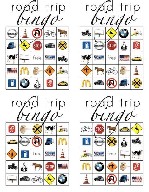 Road Trip Printables