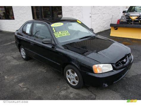 2002 Hyundai Accent Gs by 2002 Black Hyundai Accent Gs Coupe 27850679 Photo