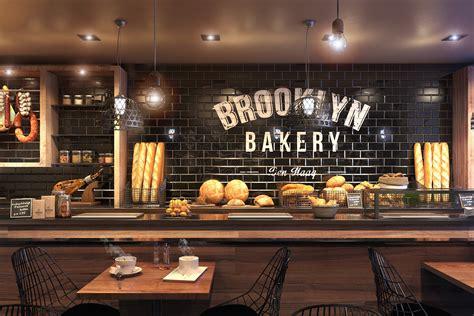 restaurant layout decor optic media 3d visualisatie en webdesign bakery