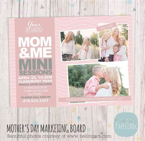 mini session templates for photoshop mother s day template mini session photoshop by
