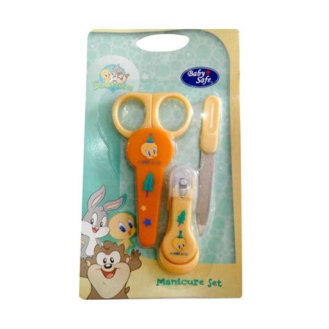 Baby Safe Manicure Set Gunting Kuku Bayi jual baby safe manicue set perawatan kuku bayi set kuning harga kualitas terjamin
