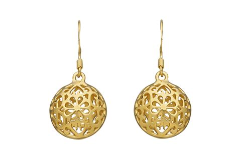 drop earrings gold gold tone graduated drop