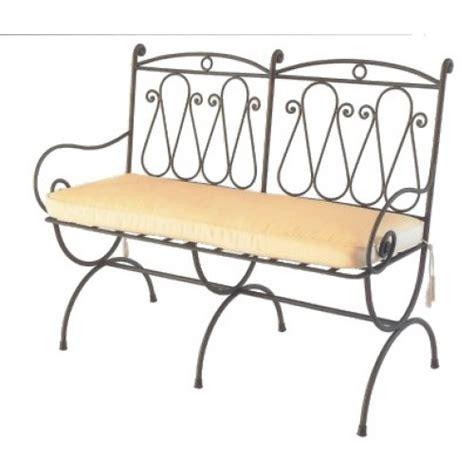 divanetto da cucina divanetto ferro forgiato giardino e cucina modello athena