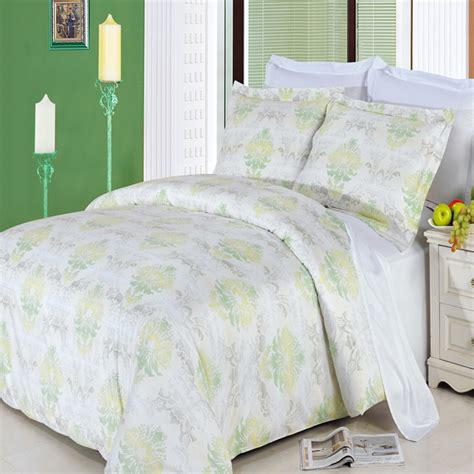 cotton comforter lana full queen 4 piece 300 thread count egyptian cotton
