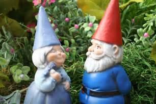 Gnomes Garden Gnomes Couple Concrete Fairy Garden Art