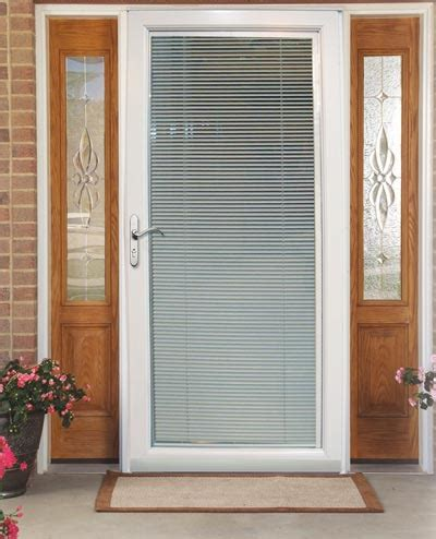 7 Ways To Add Privacy To The Front Door Design Dilemmas Blinds For Front Doors With Glass