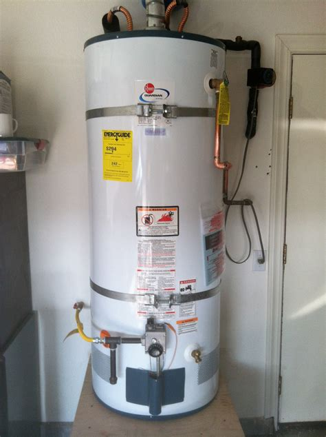 New Water Heater New Water Heater For Sun City Lincoln Home Owner Ronald