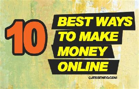50 Ways To Make Money Online - how to make money on twitter