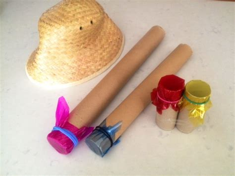 How To Make A Telescope Out Of Paper - colourful telescopes my kid craft