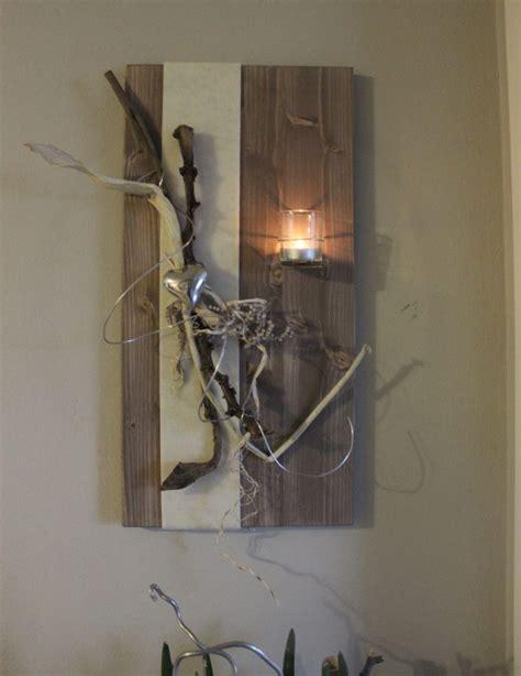 Wanddeko Aus Holz by Nat 252 Rlich Dekorieren Wanddeko