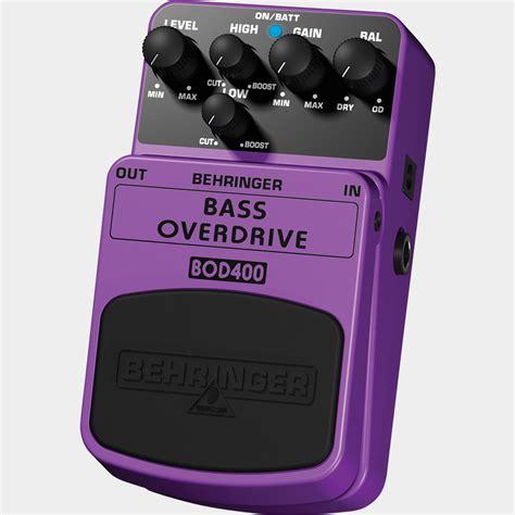 behringer bod400 pedal bass overdrive