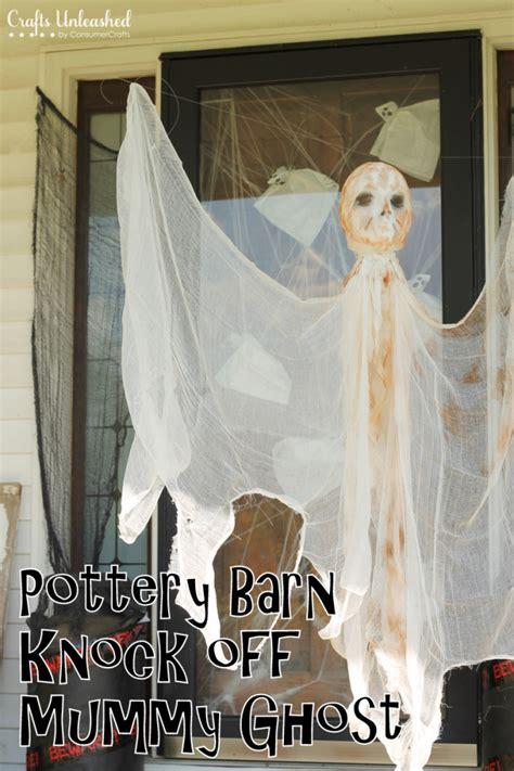 diy ghost diy outdoor decorations hanging mummy ghost