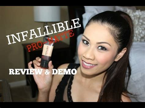review demo l oreal evercurl l or 201 al infallible pro matte foundation review demo