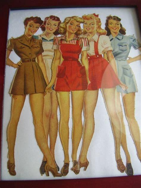 images of 1940 bombshells 1940 bombshell paper dolls how cute 40 s pinterest