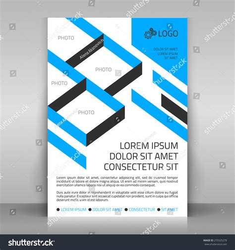layout poster vector business flyer design poster template vector stock vector