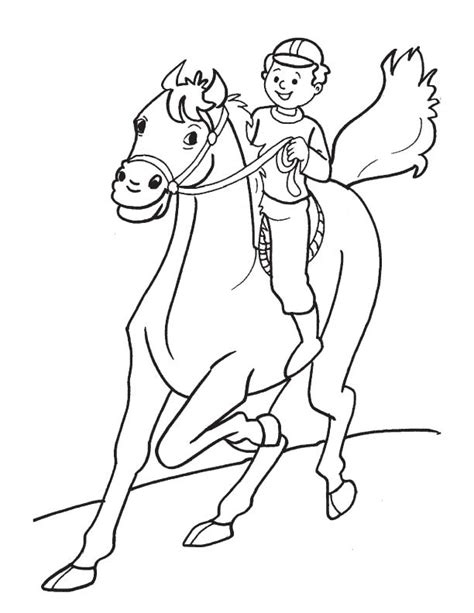 pony ride coloring pages free coloring pages of horse riding