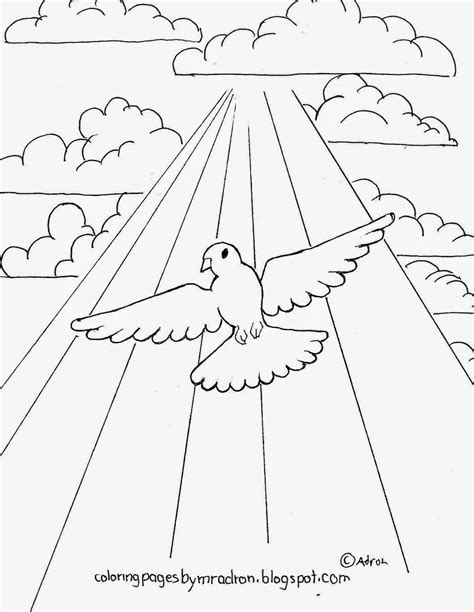 sun rays coloring page free dove coloring page coloring home
