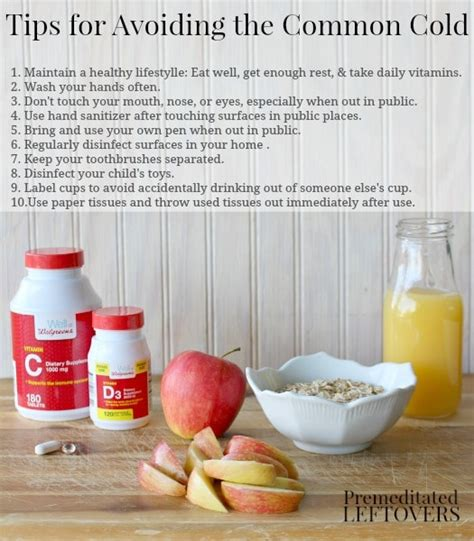 10 Tips On Avoiding Cold by Tips For Avoiding The Common Cold