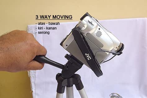 Baut Gopro Murah tripod kamera prosumer tinggi 1 m berat 420gr kapasitas 1 5kg