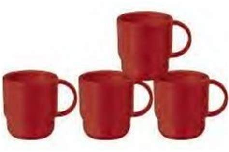 Coffee Mug Tupperware tupperware coffee mugs set of 4 kitchen dining