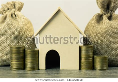 property investment home loan house mortgage stock photo