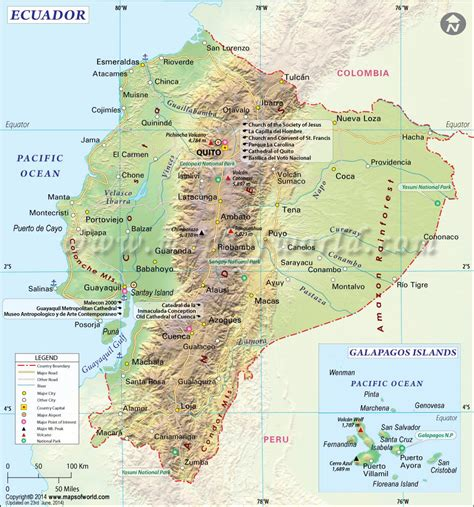 printable road map of ecuador updates pat berman page 2