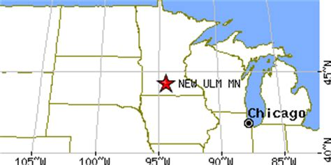 new ulm, minnesota (mn) ~ population data, races, housing