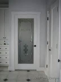 Etched Glass Bathroom Door Bathroom Shower Door