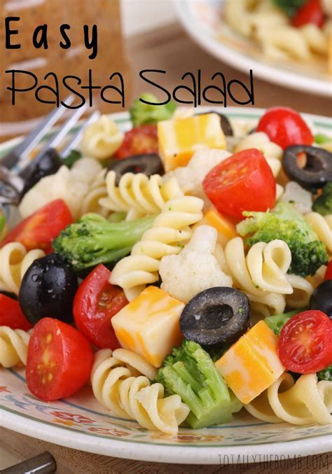 yummy pasta salad easy pasta salad summer dishes cold pasta and to work