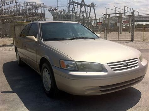 1997 Toyota Camry Mpg Sell Used 1997 Toyota Camry Quot No Reserve Quot In Fort