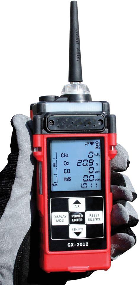 Multi Gas Detector rki multi gas detector gas monitor gx2012 4 gas lel o2