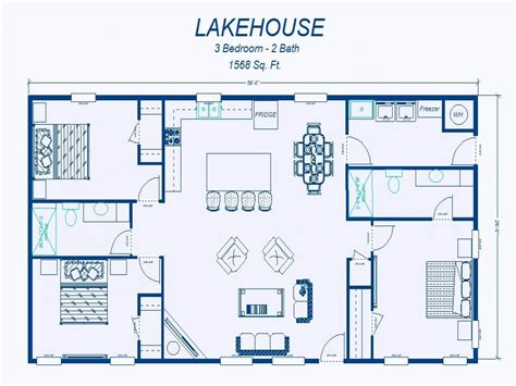simple 3 bedroom floor plans simple 3 bedroom house floor plans simple 3 bedroom house plans lake homes floor plans