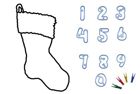 Christmas Numbers Printable   Clipart Panda   Free Clipart
