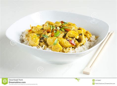 curry payment plan chicken curry royalty free stock photography image 24758887