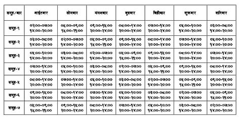 Load Shedding Schedule From Today by Photos Of Nepal Load Shedding Schedule Effective From 2067 09 14