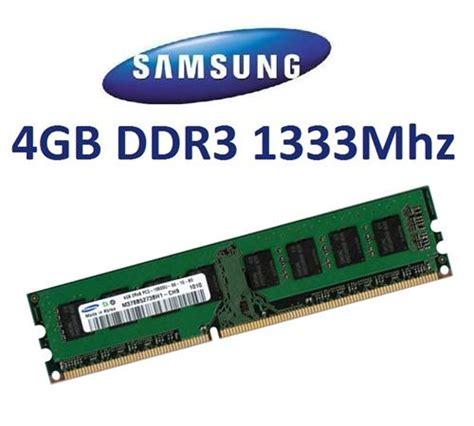 Ram Ddr3 4gb Pc10600 Vgen 4gb samsung ram speicher ddr3 1333mhz m378b5273dh0 ch9 240pin pc3 10600u pc10600 ebay