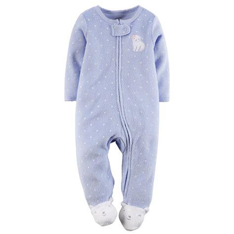 Carters Sleeper s newborn s terry cloth sleeper pajamas polar