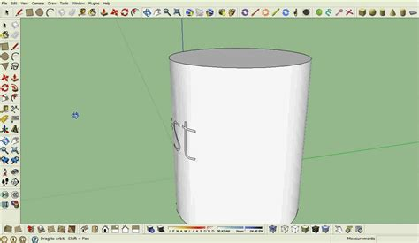 google sketchup vase tutorial google sketchup tutorial how to get text on a curved