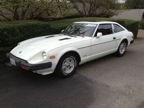 best car repair manuals 1979 nissan 280zx instrument cluster find used 1979 datsun 280zx white 66k original miles red interior all original in portland