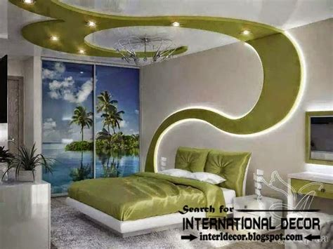 Bedroom Wall Ceiling Designs Modern Bedroom Ceiling Ideas And Drywall With Led Lights
