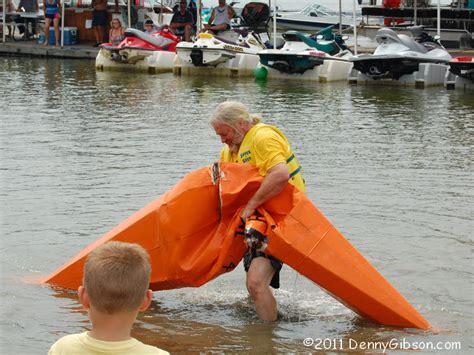 cardboard boat fails water cardboarding denny g s road trips blog
