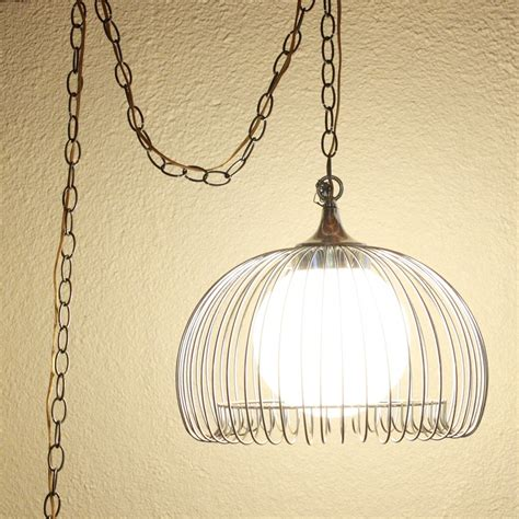 plug in lighting for living room vintage style living room with plug in pendant light