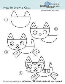 how to draw doodle cat 1 step by step how to draw many different things for
