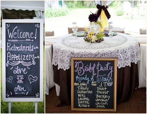diy chalkboard for wedding diy chalkboard wedding signstruly engaging wedding
