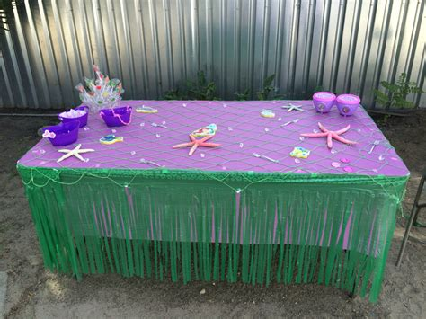 Ariel Table Decorations by Table Decorations Mermaid Mermaid Ideas Table Decorations Mermaid