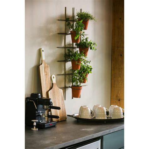 metal terra cotta wall pot holder holds  pots