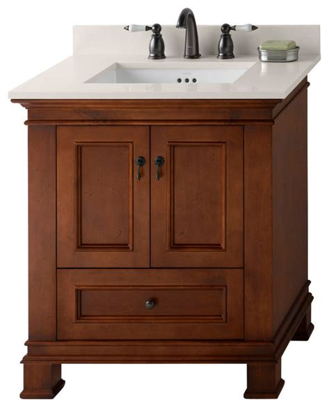 colonial bathroom vanity venice bathroom vanity colonial cherry 30 quot traditional