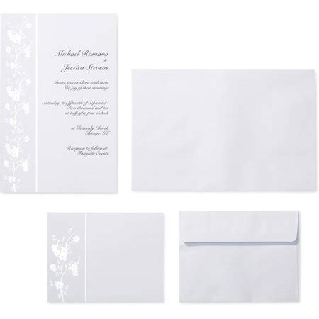 wilton wedding gold sweetheart invitation set 50 count wilton invitation kit 50 count cherry blossom