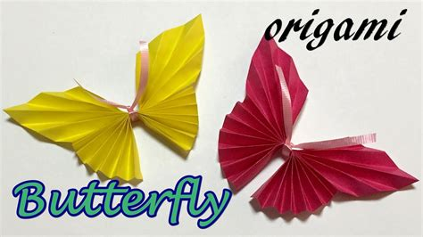 Easy Origami Butterfly Step By Step - easy origami butterfly step by step how to