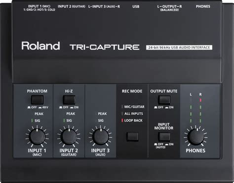 Usb Audio Capture the best roland usb audio interface for your recording